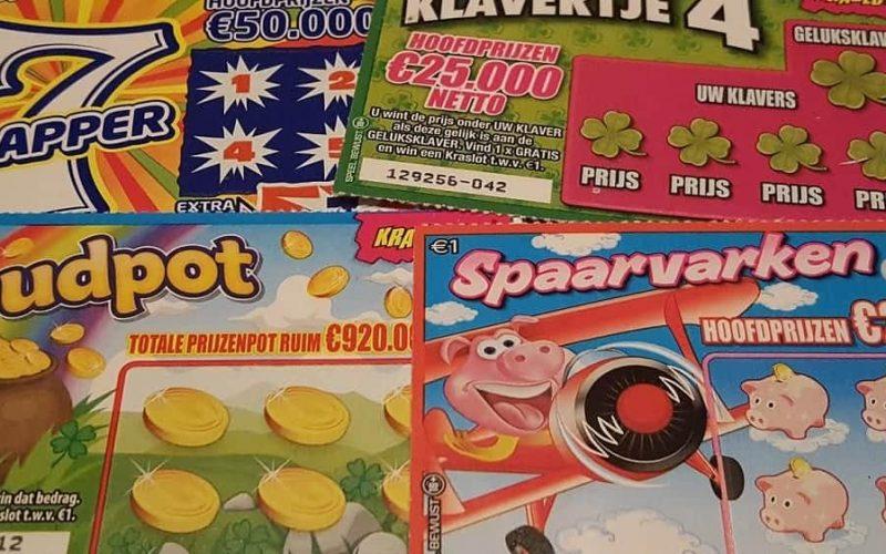 De 5 leukste krasloten van de Nederlandse Loterij